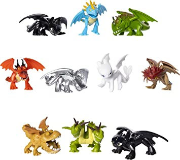 Buy Httyd Dragons Mystery Mini Figures Online At Low Prices In India Amazon In