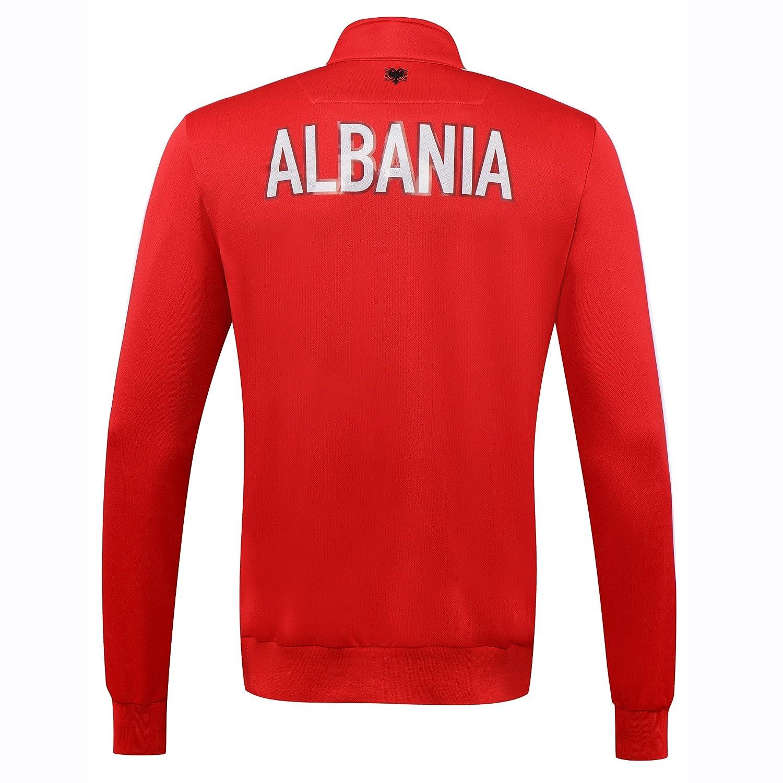 Macron Chaqueta de chándal de Viaje selección Albania fshf wcq ...