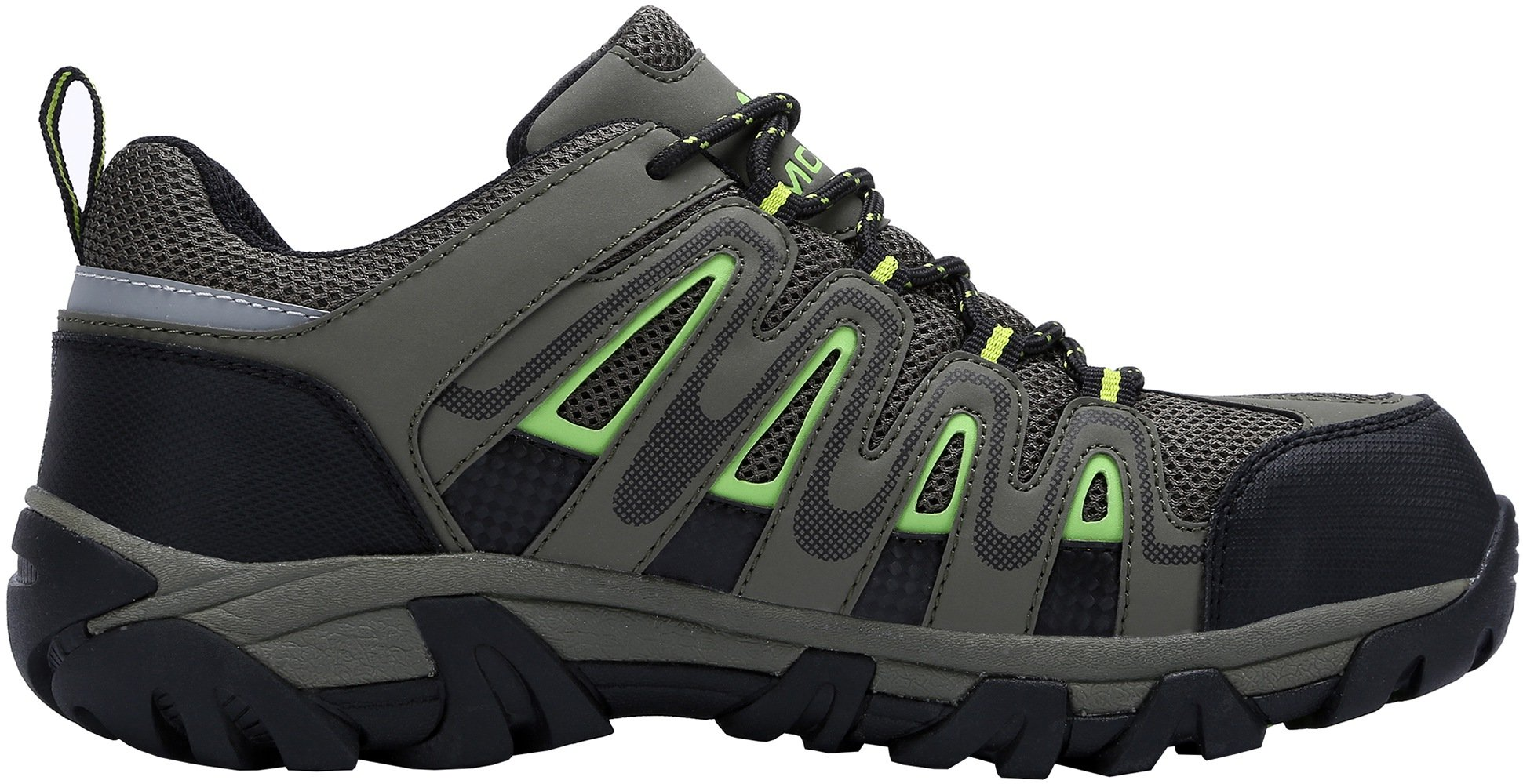 Details About Modyf Mens Work Safety Shoes Steel Toe Puncture Proof Footwear Industrial And 11 Sepatu Motor Cross Construction Army Green