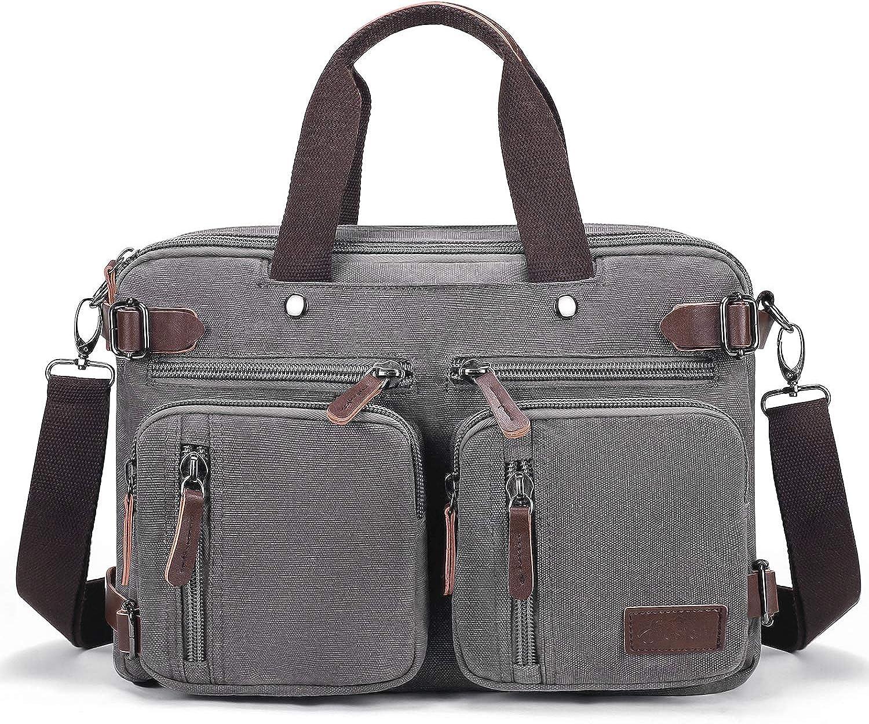 Fresion Messenger Bag Briefcase for Women - Convertible Handbag Computer Bag
