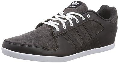 adidas plimcana niedrig, männer niedrige top sneakers, brown (nacht brown