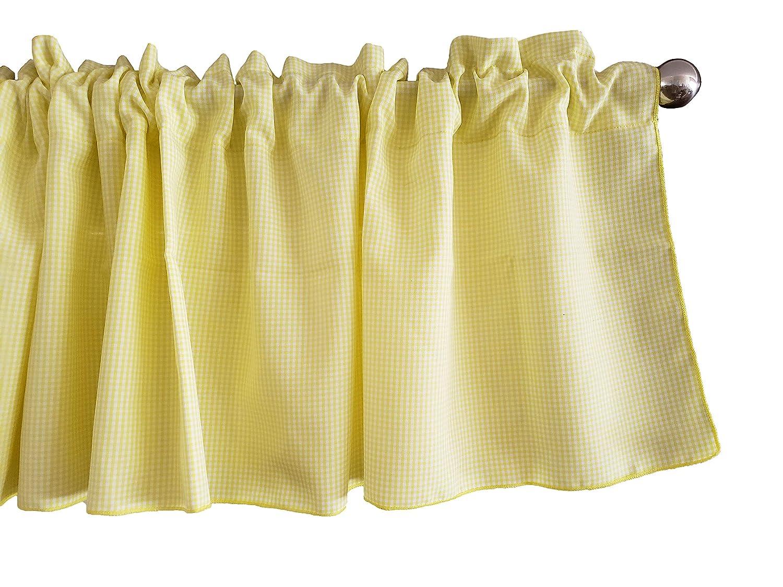 Amazon.com: Zen Creative Designs Yellow Micro Gingham ...