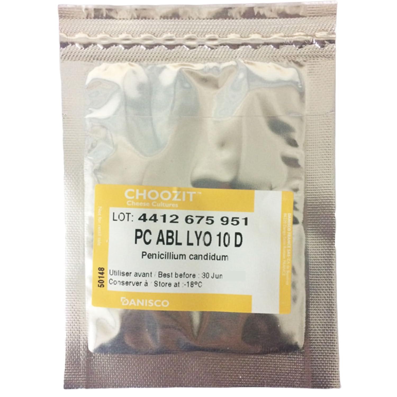 CHOOZIT Penicillium Candidum WHITE MOULD SPORES PC ABL LYO 10D