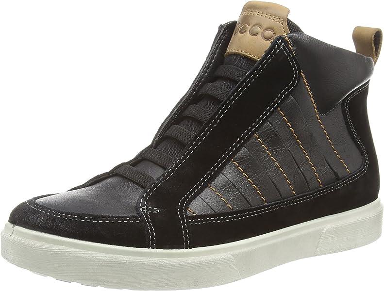 46d2e89da18 ECCO Caden, Boys' Chelsea Ankle Boots, Black (Black/Black), 3.5 UK (36 EU):  Amazon.co.uk: Shoes & Bags
