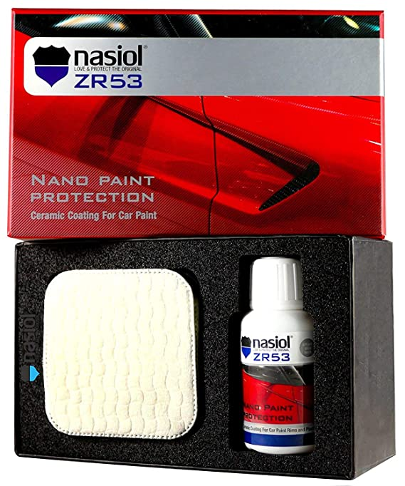 NASIOL LOVE & PROTECT THE ORIGINAL ZR53 Car Ceramic Coating Nano 9h Paint Protection Sealant 50 ml. Kit