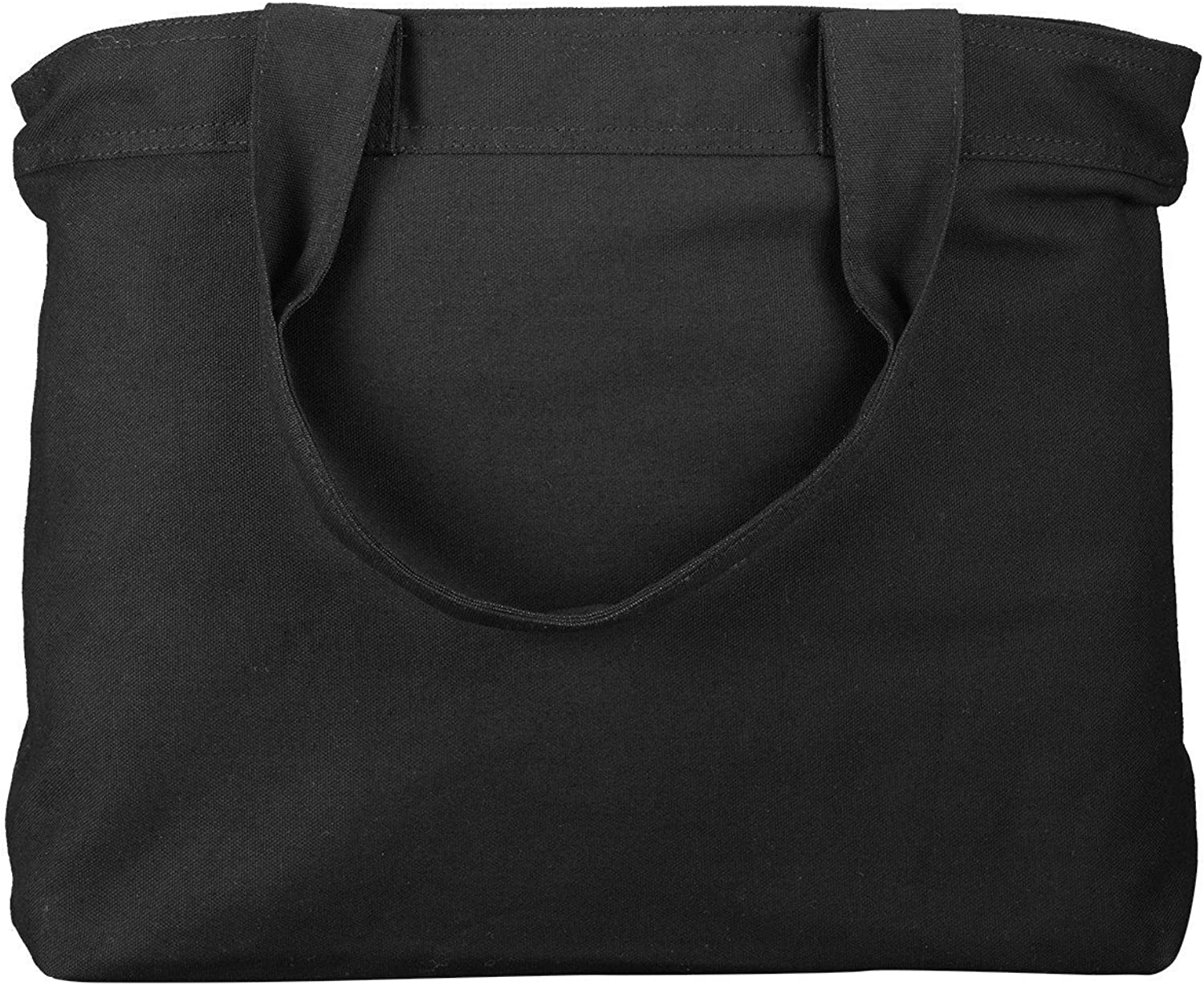 Canvas Large Tote Bag With...