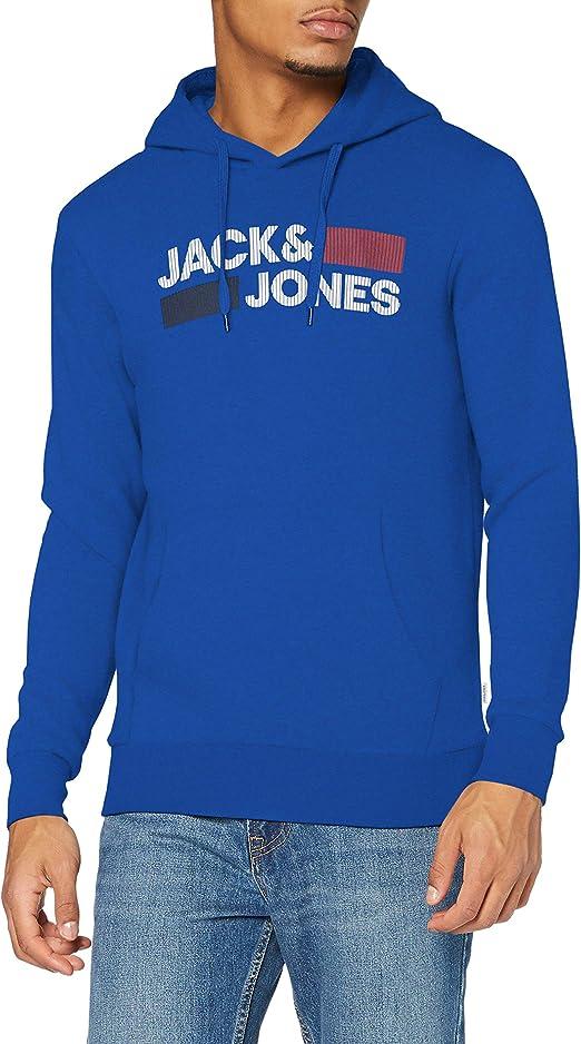 TALLA M. Jack & Jones Jjecorp Logo Sweat Hood Noos Sudadera con Capucha para Hombre