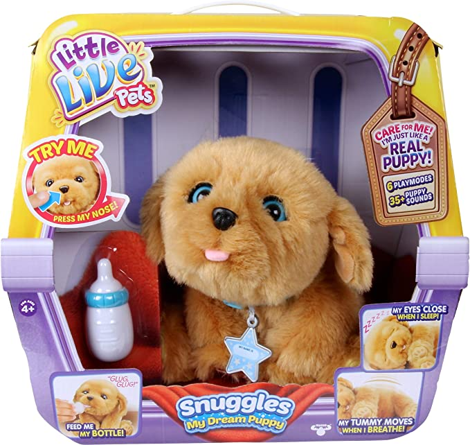 Little Live Pets Snuggles Mi Cachorro Soñado Little Live Pets Toys Games