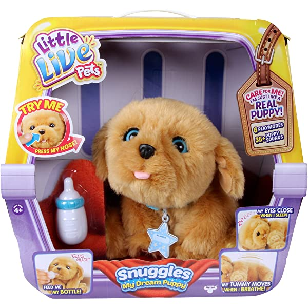 NEW Little Live Pets Frosty My Dream Puppy Playset Interactive Dog Birthday Gift