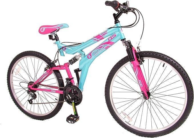 Octane MO04993 - Bicicleta de montaña para Mujer, Talla M (165-172 cm), Color Rojo: Amazon.es: Deportes y aire libre