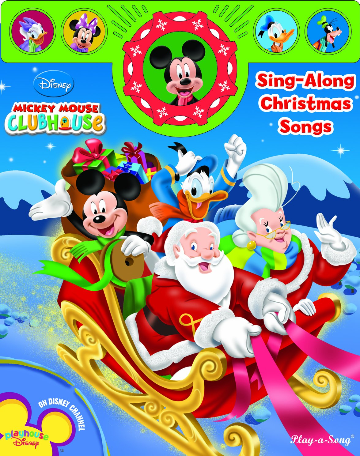 mickey mouse clubhouse sing along christmas songs editors of favorite name brand recipes editors of publications international ltd 9781412778626 - Mickey Mouse Clubhouse Christmas