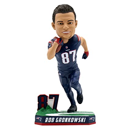 detailed look ef167 70660 Rob Gronkowski New England Patriots Special Edition Color Rush Bobblehead
