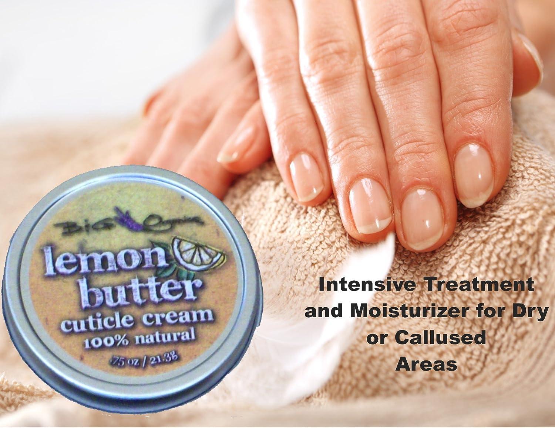 Amazon.com: Natural Cuticle Remover Cream in Lemon Butter Care for ...