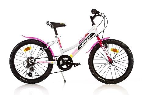 Dino Bikes 420 D Serie Mtb Bicicletta 20 Con Cavalletto E Freni V Brake Per Ragazze Da 8 A 10 Anni