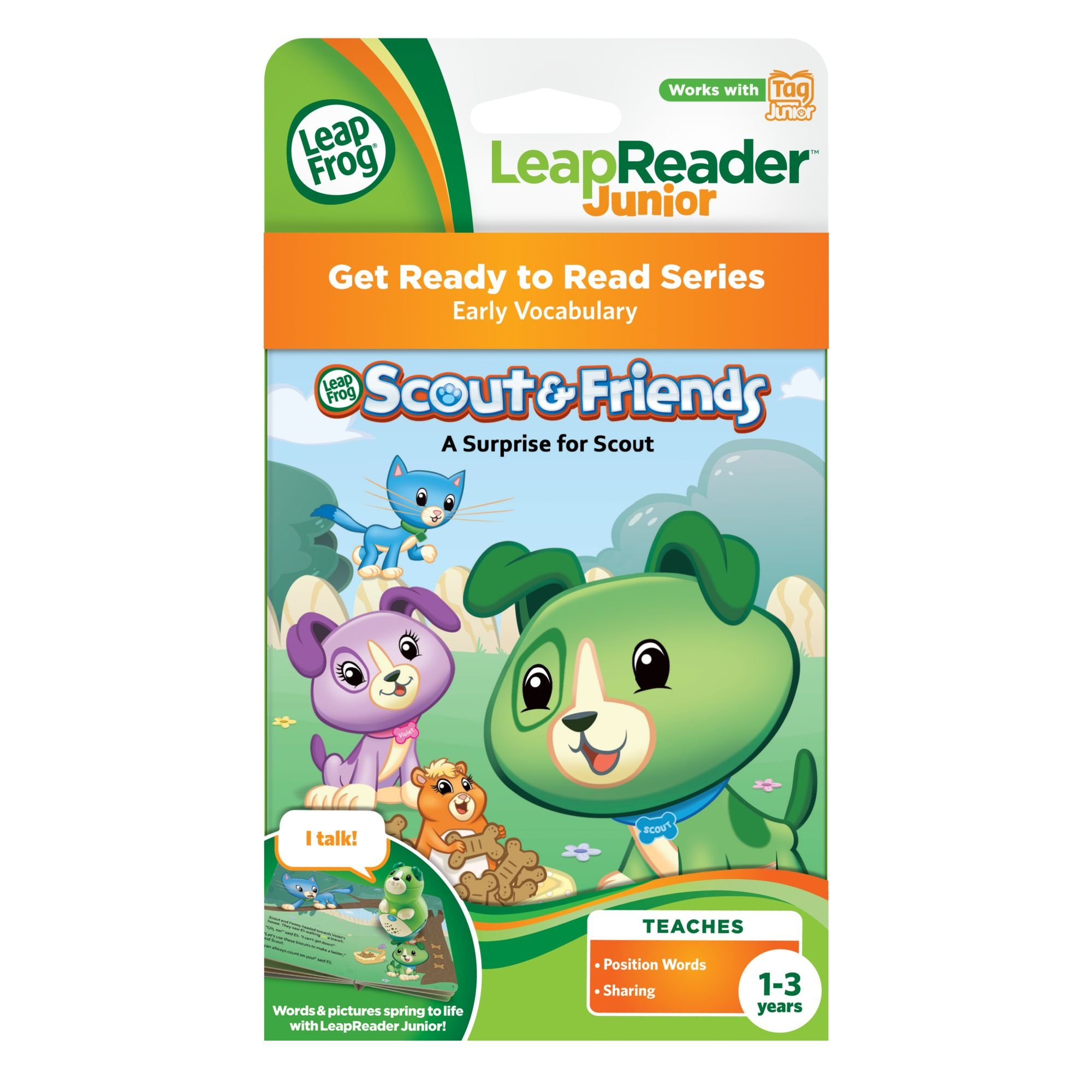 LeapFrog Tag Junior Book Scout And Friends: A Surprise for Scout (works with LeapReader Junior) by LeapFrog (Image #3)