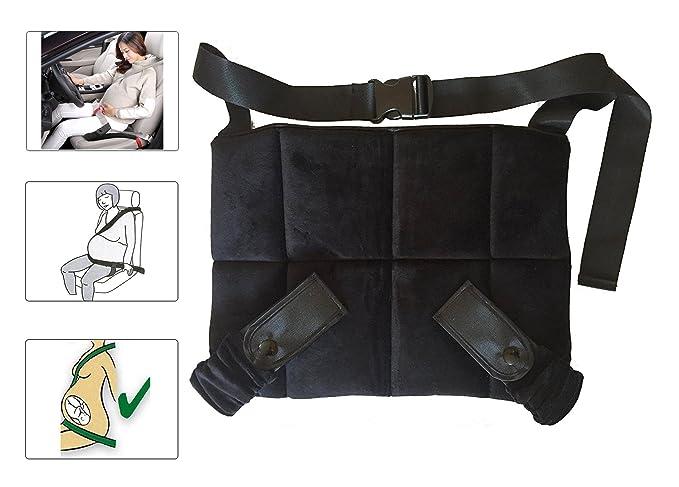 Cinturón para Embarazada de Seguridad, CompraFun Protector Cinturón Embarazada Maternidad Ajustable, Comodidad para Mujeres Embarazadas, Protege a Tu ...