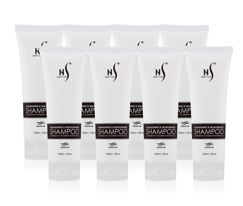 Herstyler Nourishing & Moisturizing Shampoo, 120 Ml / 4 Fl. Oz (8 Pack)