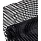 AggAuto Universal 40'x13' Car Grill Mesh - Aluminum Alloy Automotive Grille Insert Bumper Rhombic Hole 3x6mm, One of the…