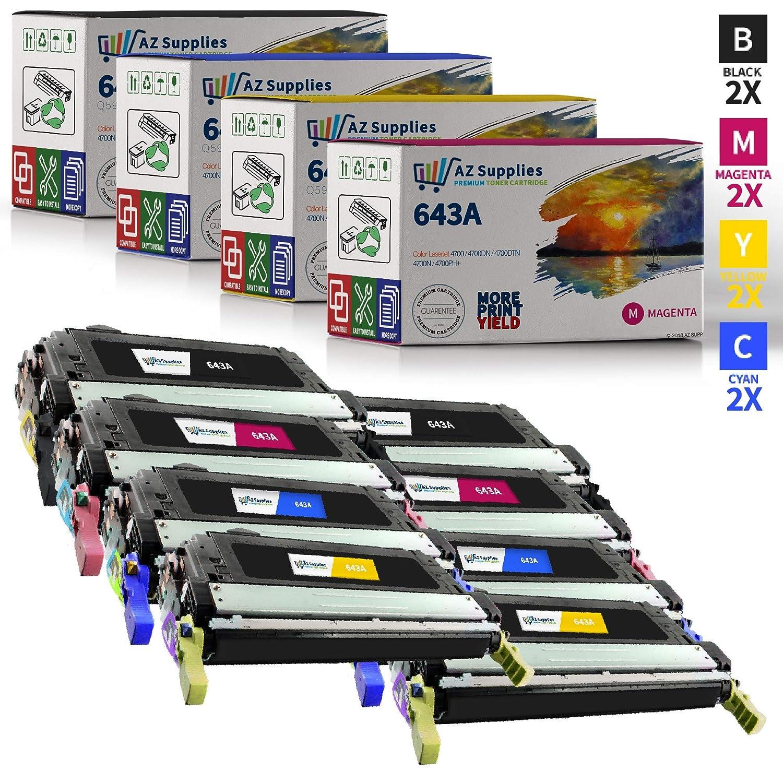 643 Cyan Laser Toner Cartridge for HP 643A Q5951A Color LaserJet 4700n 4700ph