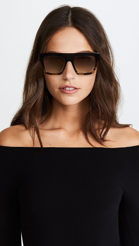free delivery exquisite style new arrival Amazon.com: Le Specs Women's Sub Dimension Sunglasses, Black ...