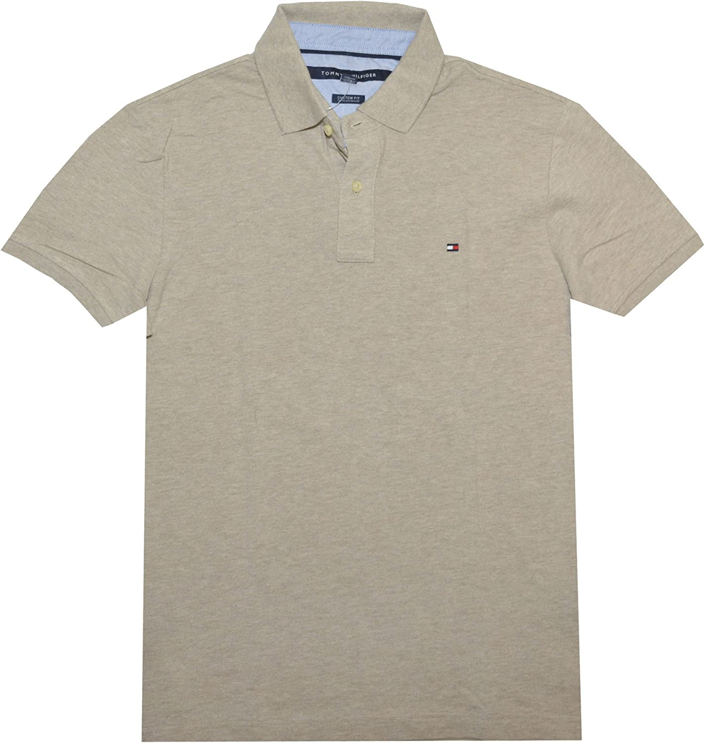 Tommy Hilfiger - Polo para Hombre (Talla XL), Color Beige: Amazon ...