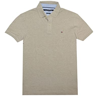 7b54aee6396c Image Unavailable. Image not available for. Color  Tommy Hilfiger Men  Custom Fit Polo T-shirt ...