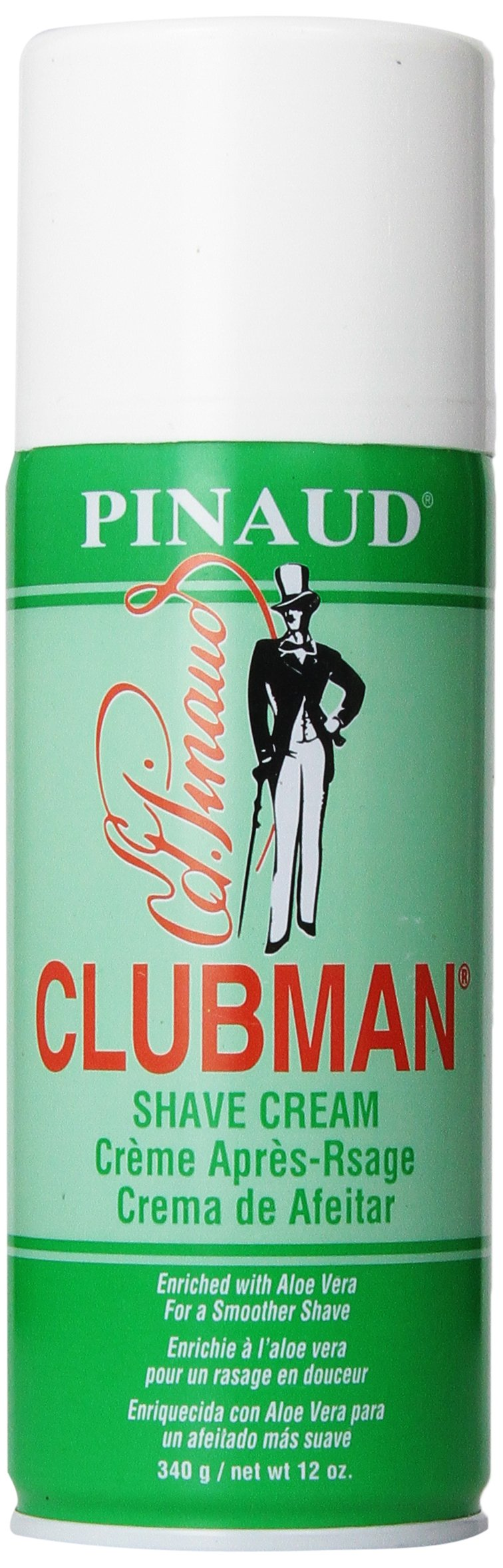 Clubman Shave Cream, 12 Ounce