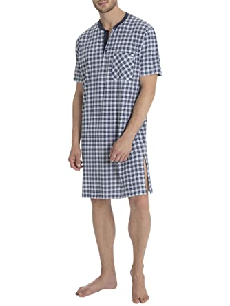 Calida Larry Nachtkleid Herren: Amazon.de: Bekleidung