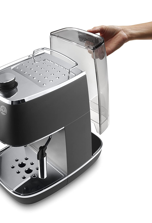 Wassertank abnehmbar der Espresso Siebträgermaschine bis 200 Euro De'Longhi ECI 341.CP DISTINTA