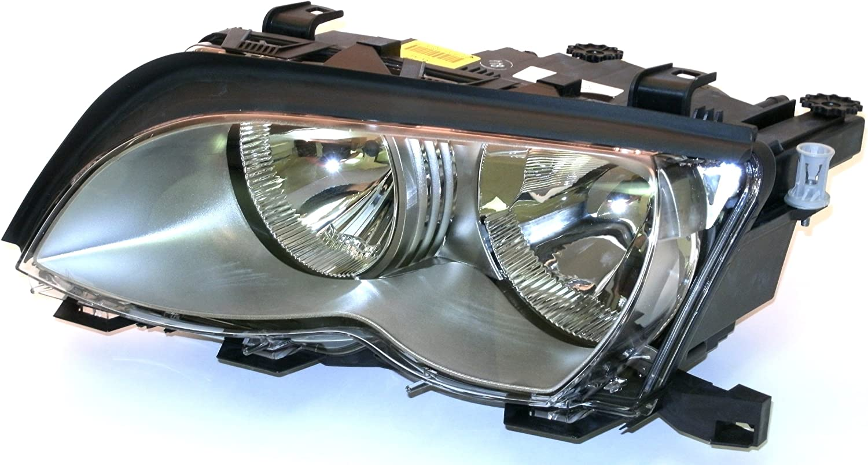 For BMW E46 330Ci Driver Left Headlight Assembly OEM Magneti Marelli 63127165907