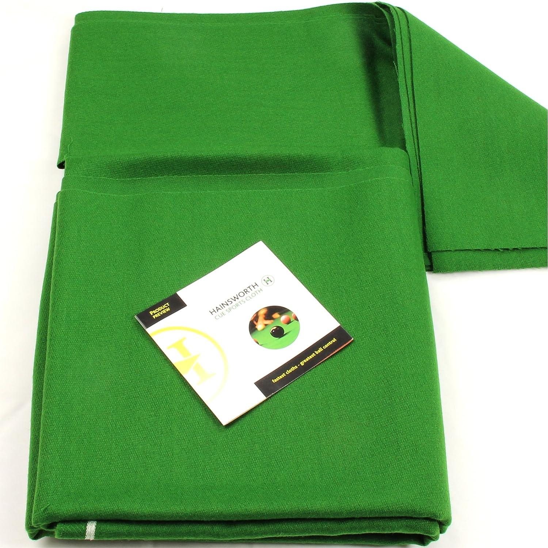 213, 36 cm color verde Hainsworth Elite-pro mesa de billar paño