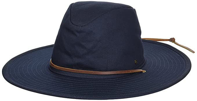 Amazon.com  Brixton Men s Ranger Ii Wide Brim Cotton Fedora Hat ... 095c6f40276