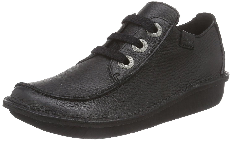 Clarks Funny Dream, Zapatos de Cordones Derby Mujer 40 EU|Negro