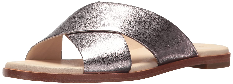 Cole Haan Women's Anica Criss Cross Slide Sandal B06Y6C9X98 7 B(M) US|Pink Glitter