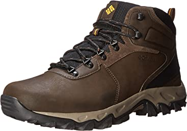 Columbia Mens Newton Ridge Plus II Waterproof Hiking Boot 0d3b5020273