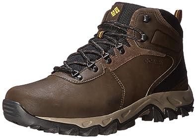 Columbia Men s Newton Ridge Plus II Waterproof Hiking Boot cordovan a99151336a