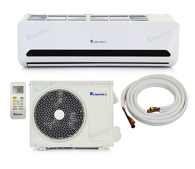 Amazon.com: 32,000 Btu Klimaire 14 SEER DC Inverter QUICK & EASY Install  Ductless Mini Split Heat Pump Air Conditioner - 220 Volt - PRE-CHARGED  COMPLETE ...