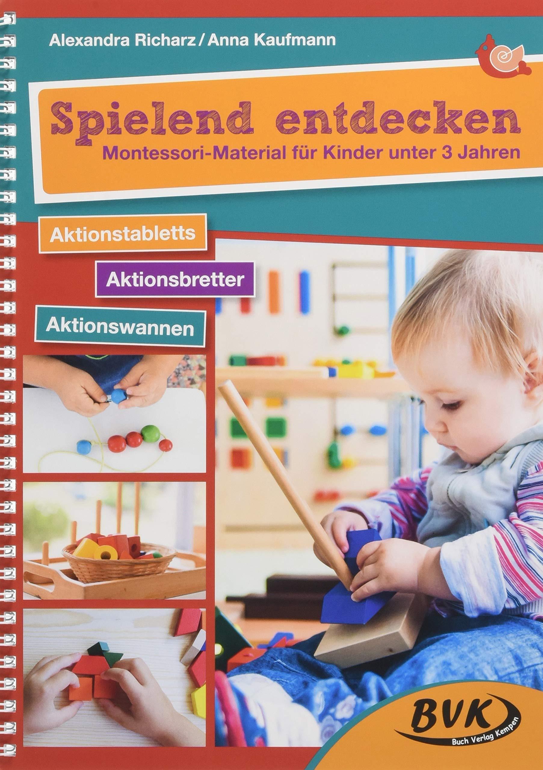 Top Spielend entdecken - Montessori-Material für Kinder unter 3 Jahren OI88