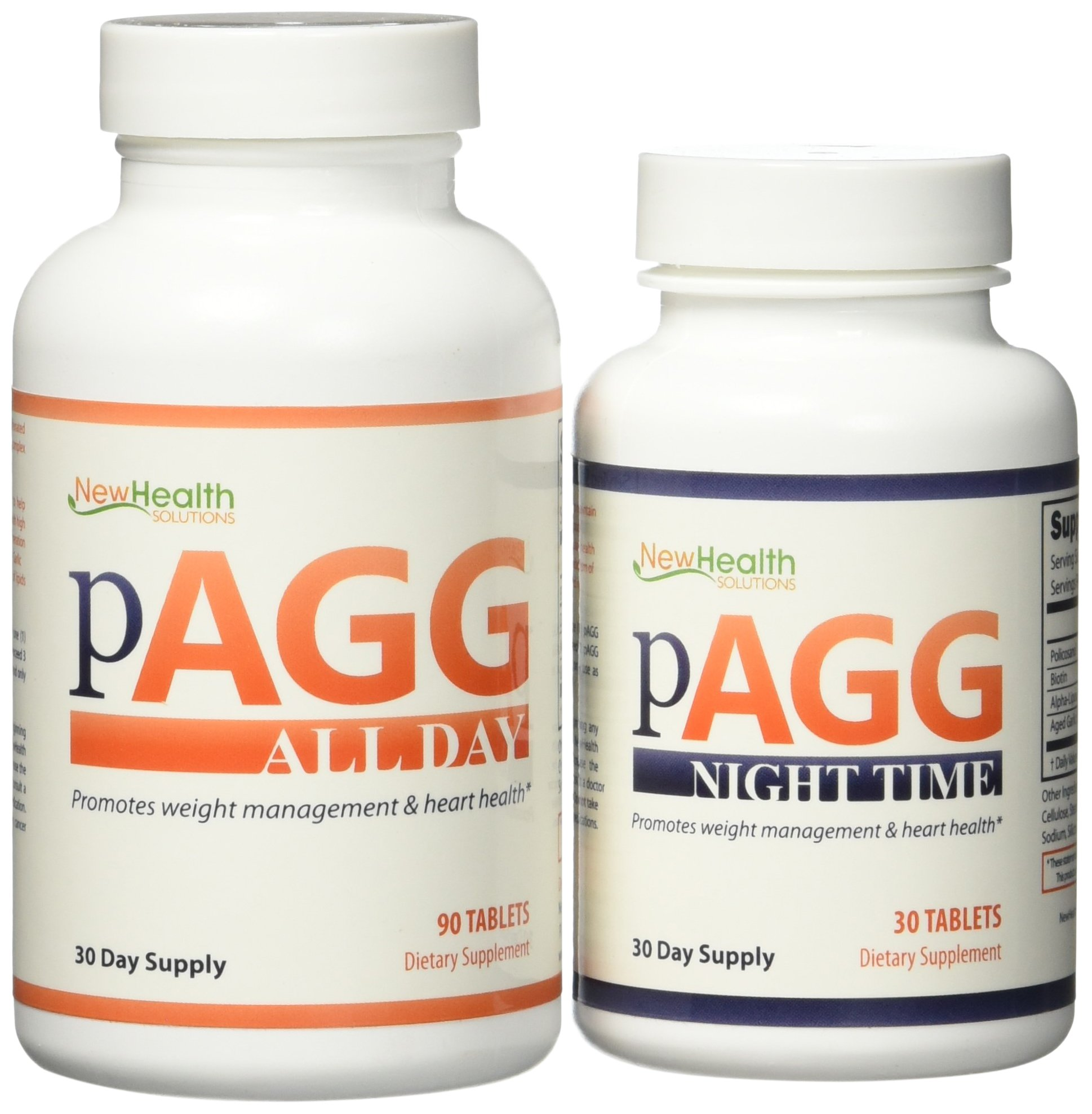 Official PAGG Stack Supplement System - One Month Supply as specified in 4 Hour Body