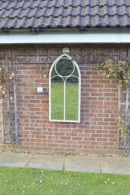 Gran jardín rústico al diseño de la ventana espejo capilla 121,92 cm x 1 FT10 122 cm x 56 cm: Amazon.es: Hogar