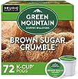 Green Mountain Coffee Roasters Brown Sugar Crumble, Single-Serve Keurig K-Cup Pods, Flavored Light Roast Coffee, 72 Count