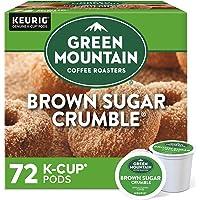 Green Mountain Coffee Roasters Brown Sugar Crumble, Single-Serve Keurig K-Cup Pods, Flavored Light Roast Coffee, 72…