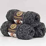 (3 Pack) Lion Brand Yarn 792-312 Homespun Thick and Quick Yarn, Edwardian