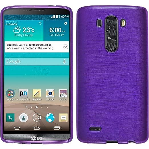 16 opinioni per PhoneNatic Custodia in Silicone per LG G3, Porpora