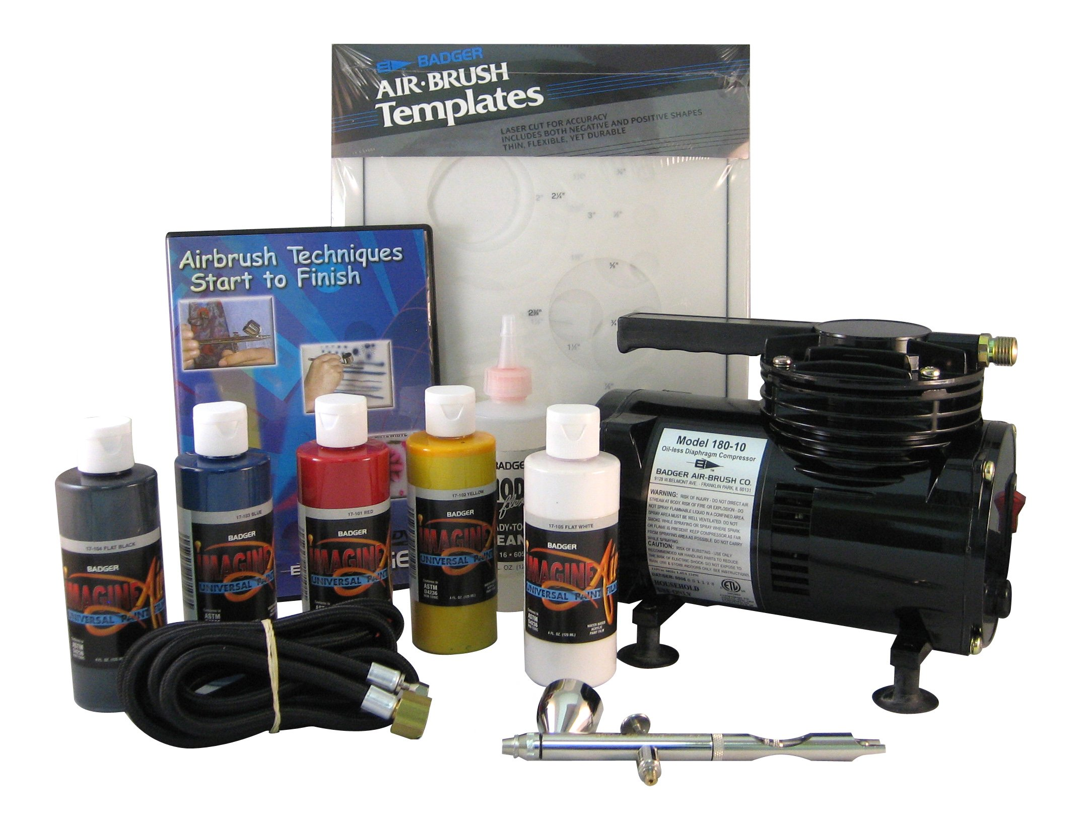 Badger Air-Brush Co.  314-AIWC Automotive Intro/Basic System with Compressor