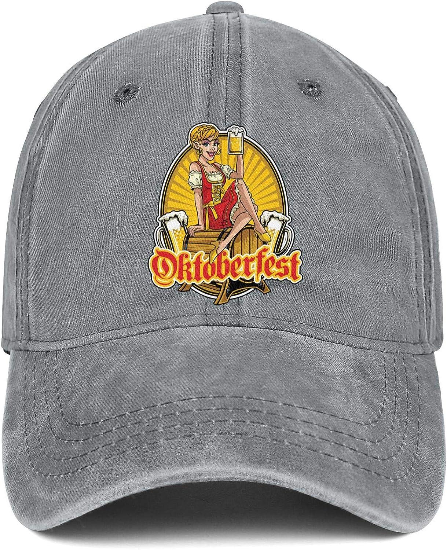 TkYioP Snapback Hat Oktoberfest Celebrations Munich Oktoberfest Beer Wine Girl Adjustable Best Hip Hop Caps for Women//Men