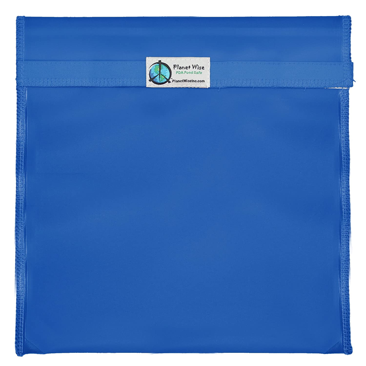 Planet Wise Tint Gallon Bag   Hook And Loop (Blue) by Planet Wise