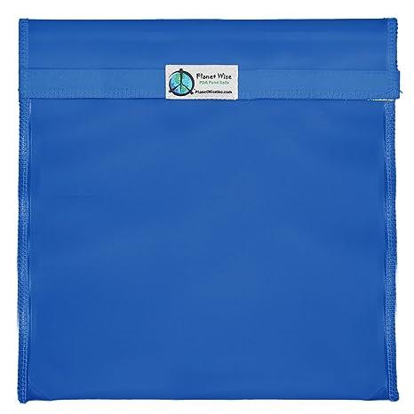 Amazon.com: Planet Wise reutilizables bolsas de sándwich y ...