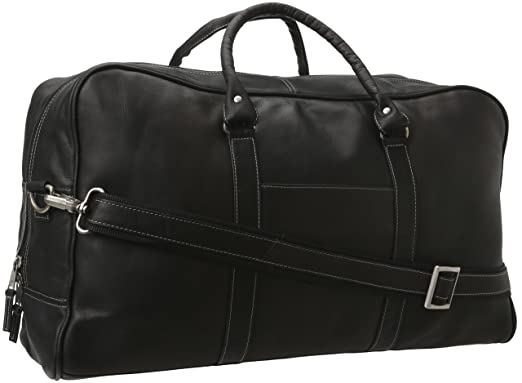 44c1de5b15d Image Unavailable. Image not available for. Color  Latico Leathers Cabin  Duffel, Black 100% Leather