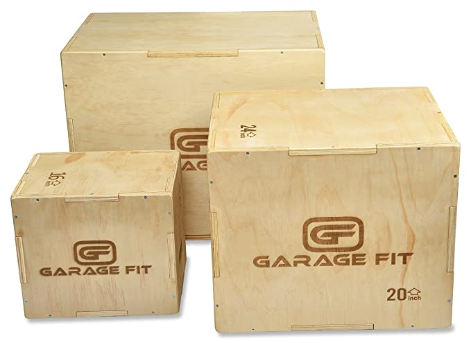 GarageFit Wood Plyo Box